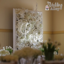 Photo: Masterpieces Photography + Video Love Sign: AV Ideas