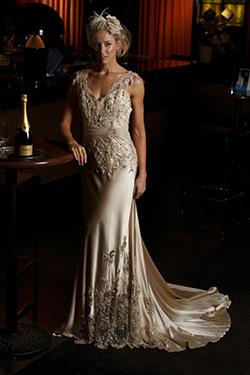 Elizabeth de Varga Gown