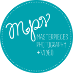 Masterpieces Photography + Video Logo