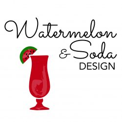 Watermelon Soda Design Square