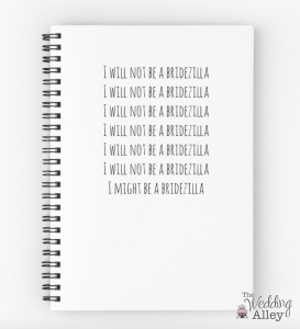 Not a bridezilla